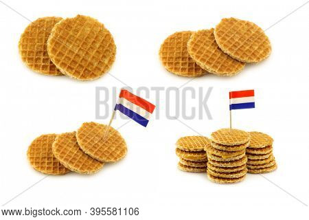 traditional Dutch mini  waffles called