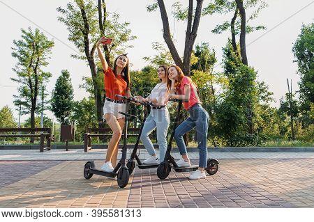 E-scooter, Electric Scooter, Ecological Urban City Transport, Alternative Energy, Alternative Lifest