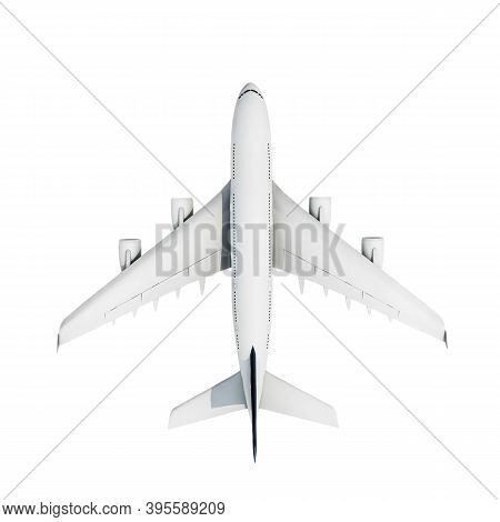 Airbus Isolated On White Background 3d Illustration
