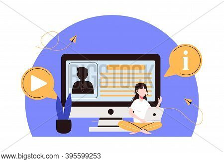 Registration Abstract Concept Vector Illustration. Registration Page, Name And Password Field, Fill