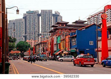 Singapur - čínská čtvrť