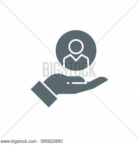 Customer Care Icon. Customer Retention Patient Assistance Icon. Service Support Icon, Color, Line, O