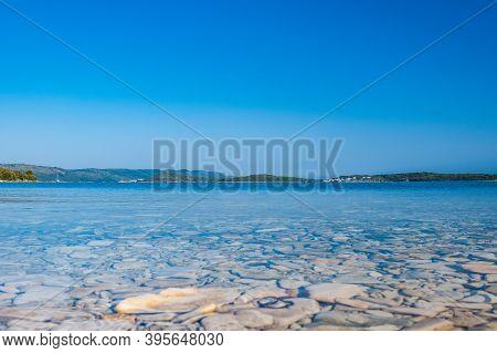 Beautiful Seascape On Adriatic Sea In Croatia, Dugi Otok Island