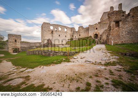 Castle Rabi In The Klatovy District Eight Kilometers Northeast Of Susice