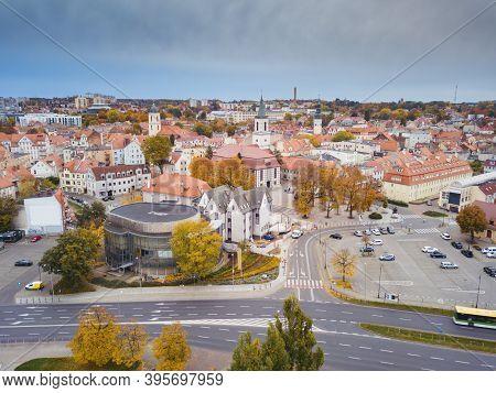 Old Town Of Zielona Gora. Zielona Gora, Lubusz, Poland.
