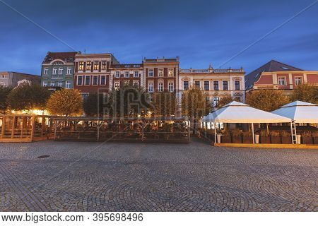 Architecture Of Leszno. Leszno, Greater Poland, Poland.