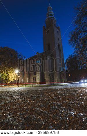 Evening In Tarnowskie Gory. Tarnowskie Gory,  Silesia, Poland.