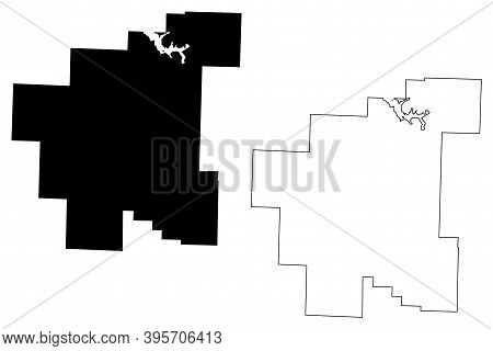 Noble County, Ohio State (u.s. County, United States Of America, Usa, U.s., Us) Map Vector Illustrat