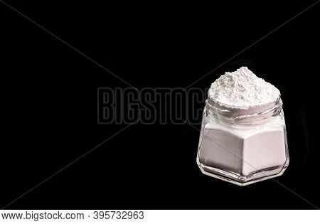 Chemical Baking Powder. Chemical Product That Allows To Give Sponginess To A Mass. Mixture Of A Non-