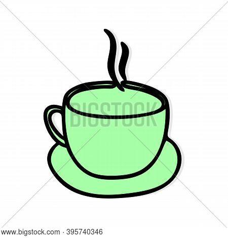 Coffee Logo Icon Vector. Coffee Sign. Coffee Symbol. Trendy Coffee Cup Logo Vector Design Illustrati