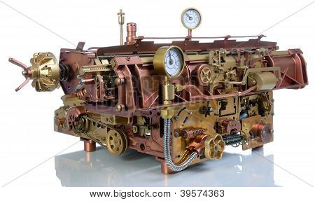 The Steampunk Mechanism.