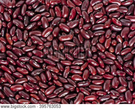 Close Up Red Beans Background, Red Beans Seeds.