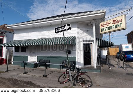 New Orleans, La - January 28: Front Of Famous Willie Mae's Restaurant On January 28, 2020 In New Orl