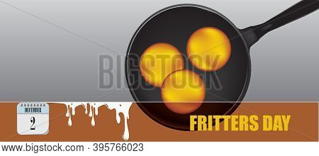 Post Card For Event December Day Fritters Day
