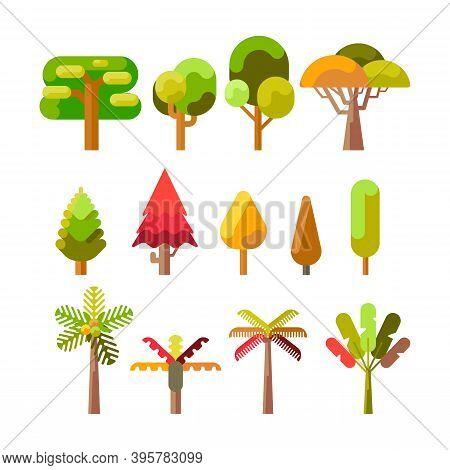 Tree Elements Vector. Tree Icon Logo. Tree Shillouette Vector. Tree Vector Design. Tree Symbol Vecto