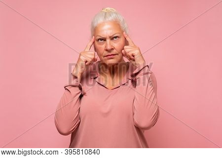 Woman Having Doubts And Being Confused, Thinking About An Idea Or Worrying About Her Family