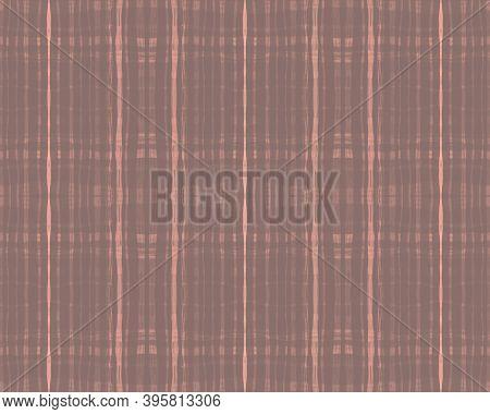 Nude Plaid Pattern. Picnic Fabric. Seamless Buffalo Shirt. Pink Fashion Irish Flannel. Fall Plaid Pa