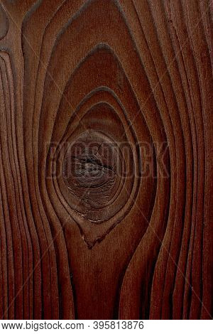 Wooden Background Of Burnt Wood. Old Wooden Background, Burnt Wood Texture, Rustic Style Banner.