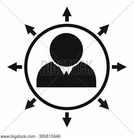 Multilateral Headhunter Icon. Simple Illustration Of Multilateral Headhunter Vector Icon For Web Des
