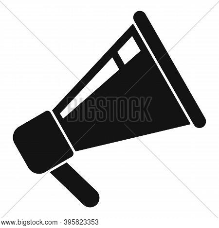 Recruiter Megaphone Icon. Simple Illustration Of Recruiter Megaphone Vector Icon For Web Design Isol