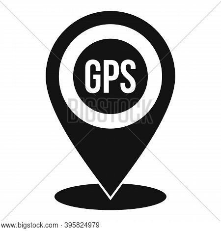 Gps Guide Point Icon. Simple Illustration Of Gps Guide Point Vector Icon For Web Design Isolated On