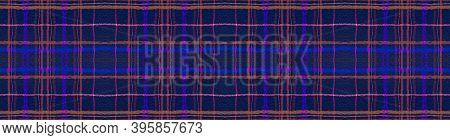 Seamless Plaid Texture. Red Check Pattern. Scottish Wool. Modern Buffalo Material. Graphic Plaid Tex