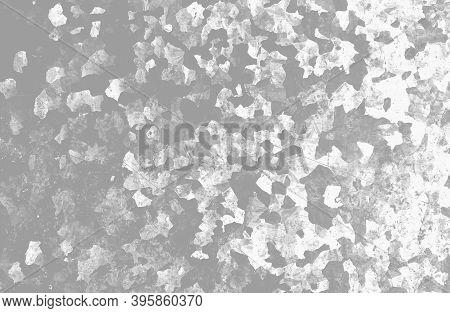 White Army Background. Watercolour Camouflage Textile. Combat Pattern. Graphic Khaki Background. Arm