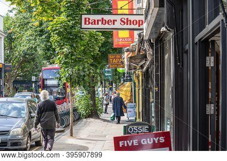 Uk, London, Camden Town, 12 September 2020.camden Town, Often Shortened To Camden, Is A District Of