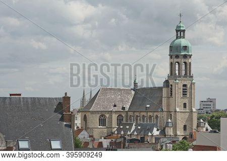 St. Andrew's Church In Antwerp In Belgium