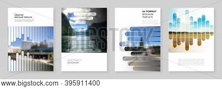 A4 Brochure Layout Of Covers Design Templates For Flyer Leaflet, A4 Brochure, Report, Presentation,
