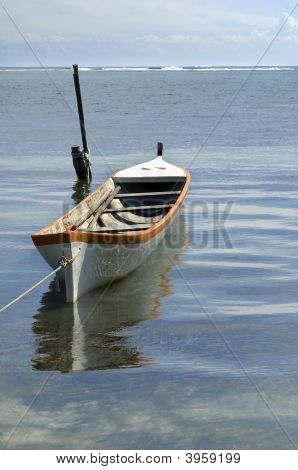 Boat Floating In The Water