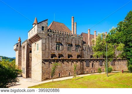 Palace Of The Dukes Of Braganza Or Paco Dos Duques De Braganca Is A Medieval Estate In Guimaraes Cit