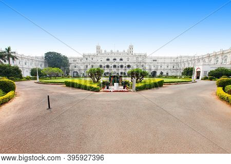 Jai Vilas Mahal Palace Is A Nineteenth Century Palace In Gwalior City, Madhya Pradesh State In India