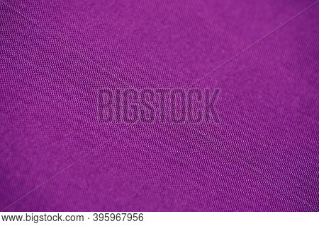 Violet Fabric Texture. Material For Designers Violet Fabric Background