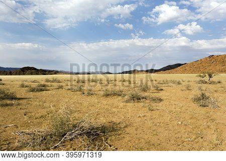 Panoramic View Of Twyfelfontein Landscape