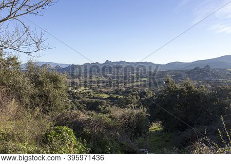 An Hill View In The North Of Sardinia