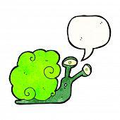 magic snail cartoon poster