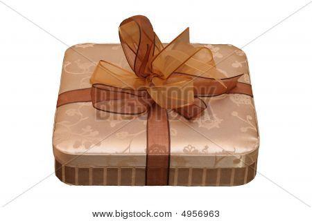 Nice Golden Box As A Gift