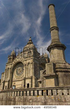Santa Luzia Basilic. Viana Do Castelo, Portugal