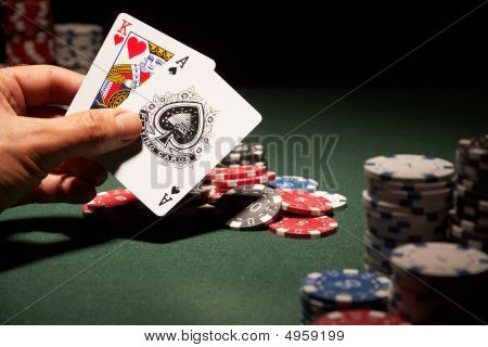 Blackjack Hand Of Cards