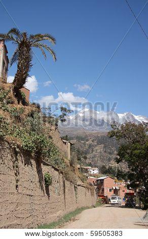 Street of Coroico, Bolivia, South America