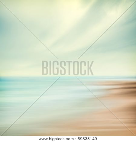 Sea And Sky Abstract