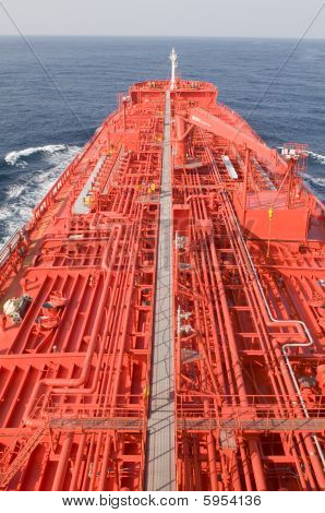 Oil and gas industry - crude oil tanker