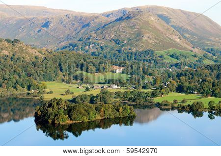 Grasmere Lake From Loughrigg Terrace