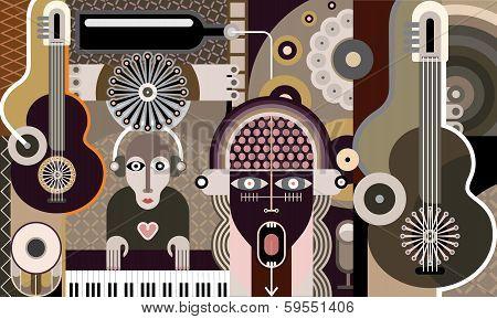 Concert - Vector Illustration