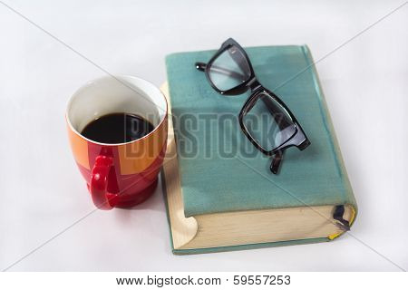 Book With Cup