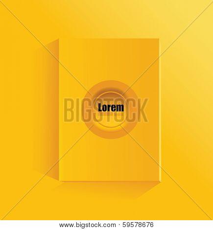 broshure background with eyelets