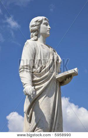 Statue of a Spiritual Woman