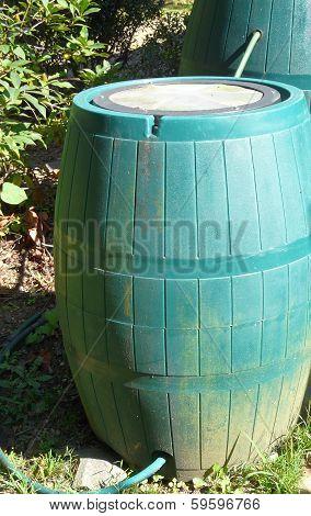 Connected Rain Barrels