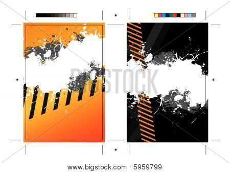 SplatterPostcard Template